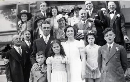 1940, 25 mai - Mariage Henriette et Albert Thivierge - 1