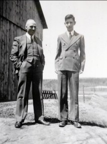 1940, François et Louis de Kinder