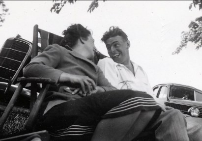 1940, Henriette et Albert