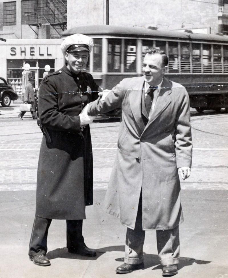 1940 approx Albert et Larry Leroux