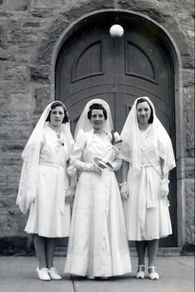 1940, mariage de Simone Bertrand