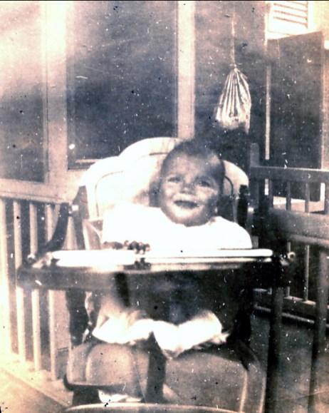 1941, Paulette a 6 mois