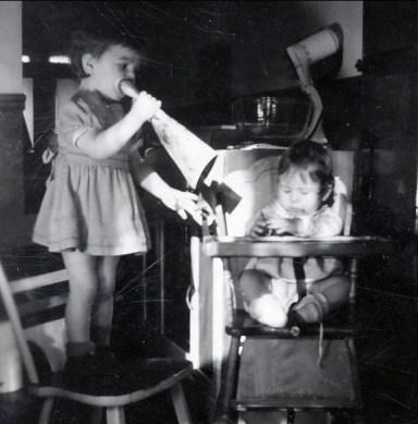 1942, Paulette et Marc