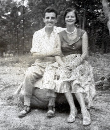 1943 approx Johnny et Laurette Sofio