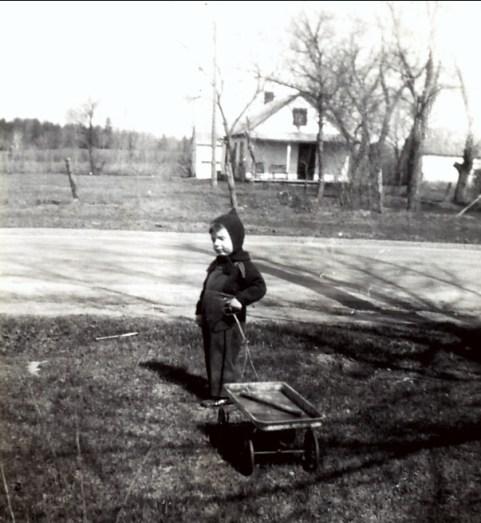 1943, mai Paulette à Ste Geneviève