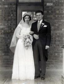 1947, Mariage Gabrielle de Kinder et Gérard Bessette