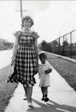 1947, approx Henriette et Bobby