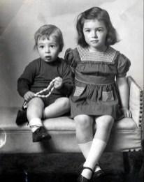 1947, septembre Bobby et Irène