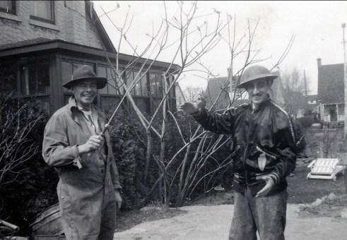 1948, Albert et Johnny Sofio