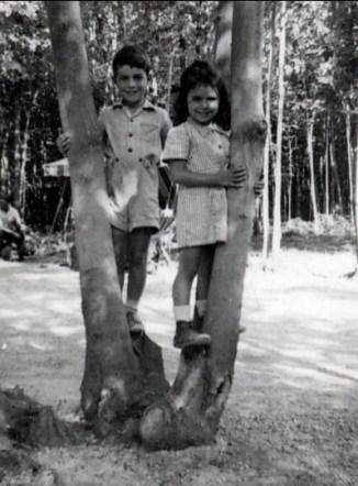1948, approx Jim et Hélèna Sofio