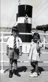 1948, bateau - Marc et Irène