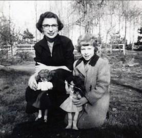 1950 approx Gaby Bessette et ...