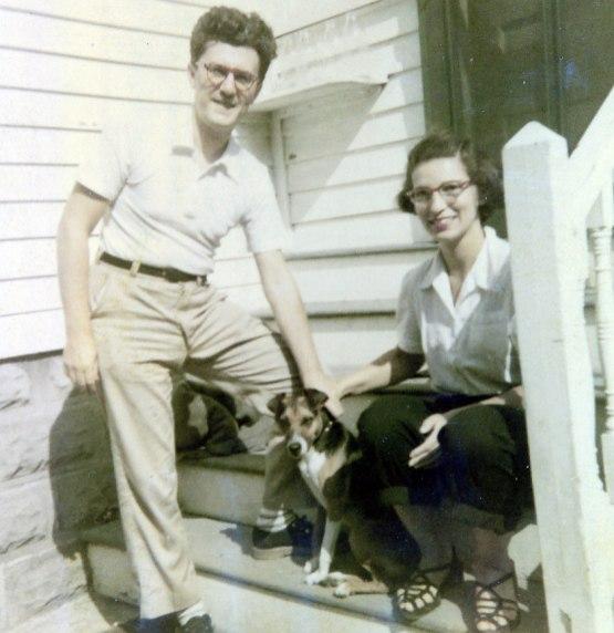 1951, Gérard et Gaby Bessette