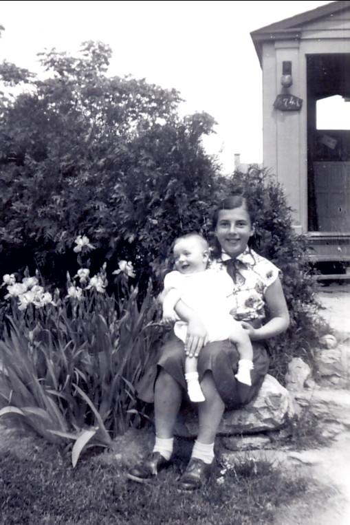 1953, Richard et Paulette