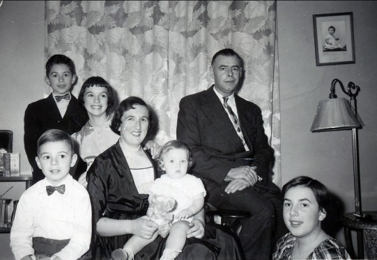 1954, famille Thivierge