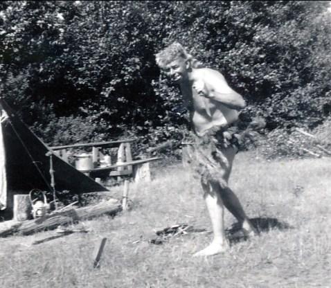 1955, Albert à St-Canut (2)