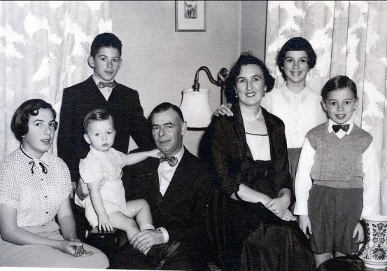 1955, famille Thivierge