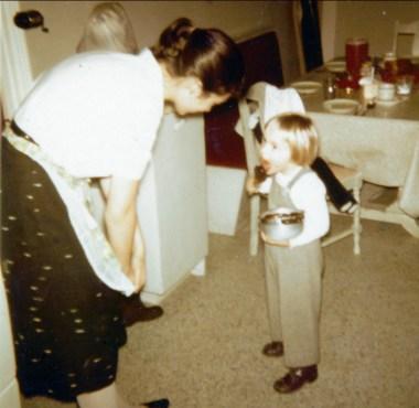 1956, Irène et Claire
