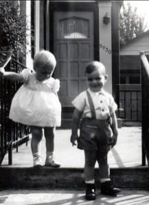 1957, Claire et François Sofio