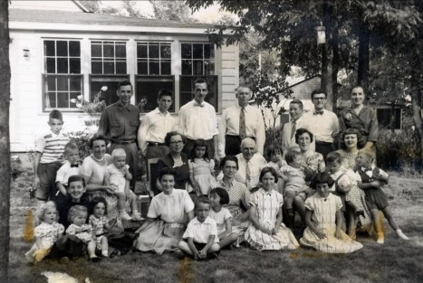 1957, Famille de Kinder à Ste-Geneviève