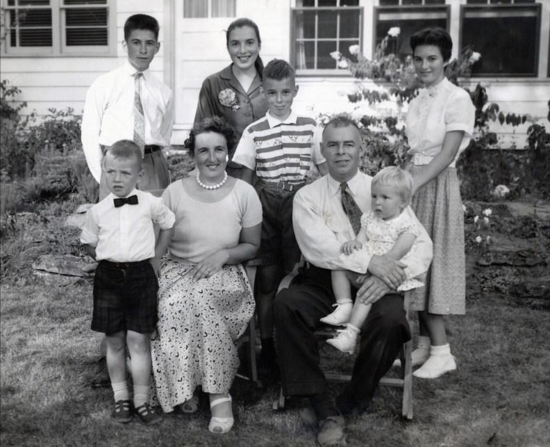 1957, famille Thivierge à Ste-Geneviève