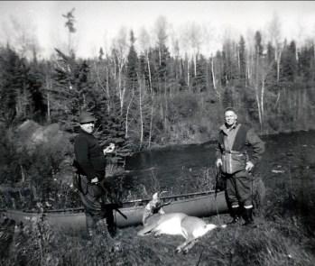 1958, nov Albert à la chasse