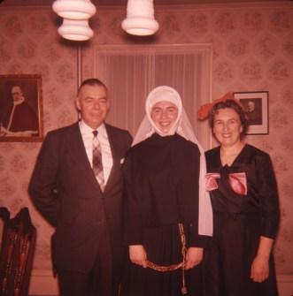 1959, Marlboro; Albert, Paulette et Henriette