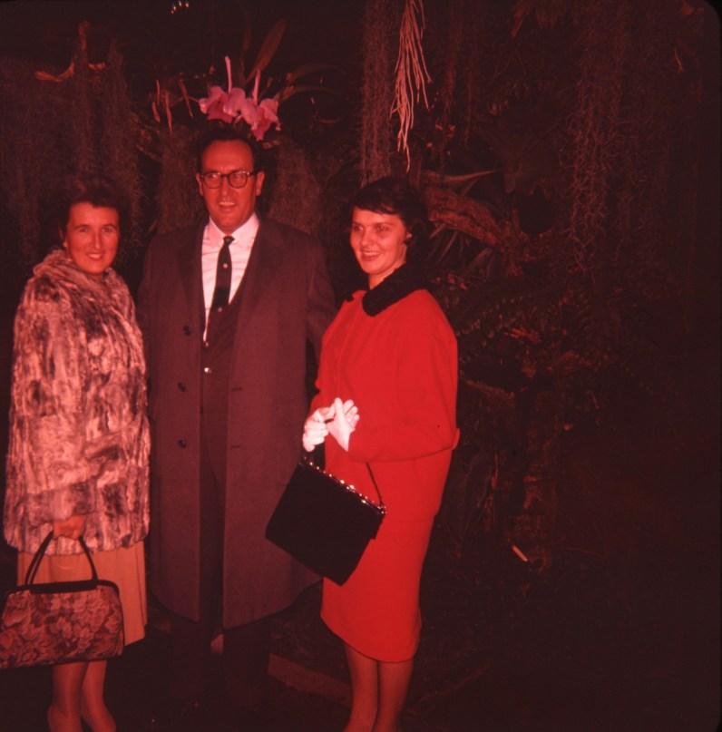 1960 Henriette avec Eudore Jacques et son épouse