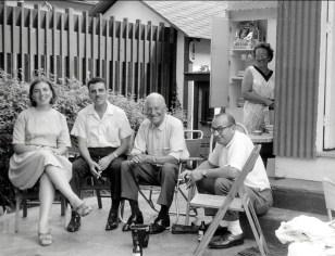 1960, Paulette, Johnny Sofio, Horace Thivierge père, Walter (mari de Geraldine), Henriette