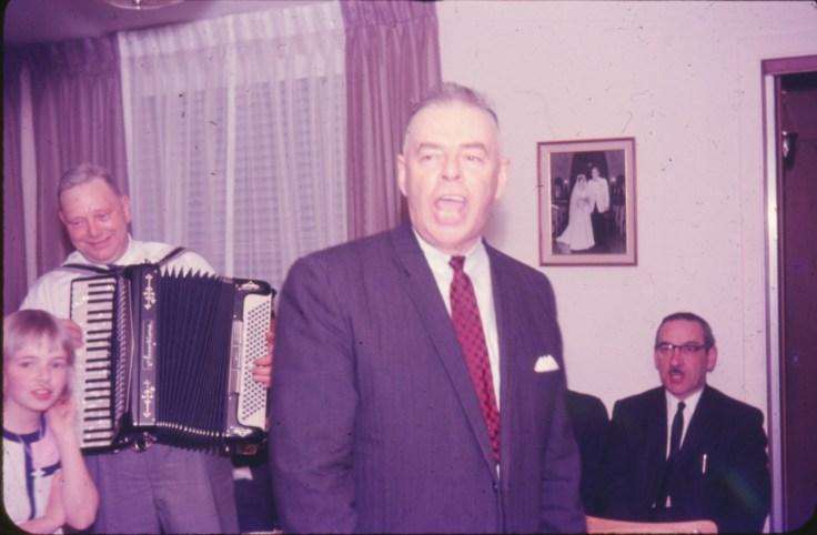 1965, Frank George, Albert Thivierge et Jean-Paul Naubert