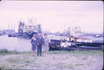 1966 approx Henriette, oncle de Hans , Paulette en Hollande