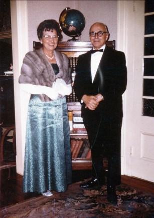 1968, 12 sept Germaine et François de Kinder