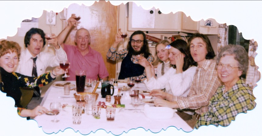 1973, Carole, Marc, Albert, Bobby, Claire, Louise Smith, Richard, Germaine