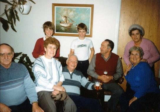 1982, Val-David famille Bertrand