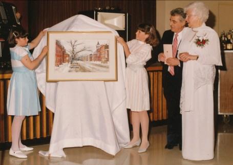 1984, 40e Stéphanie, Marie-Hélène, Johnny et Laurette