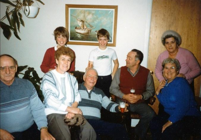 1984 approx Val-David famille Bertrand