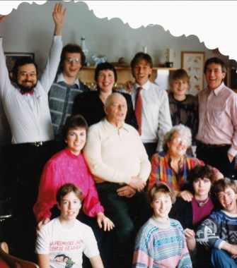 1984, famille Thivierge