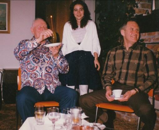1988, 75e Albert, Marie-Jo et Johnny Hughes