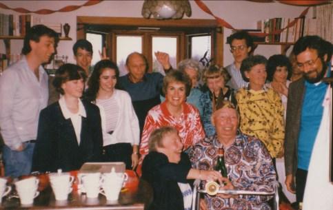 1988, 75e familles Thivierge et George, Tina