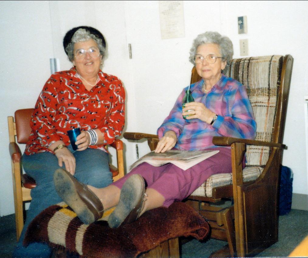 1988, Henriette et Germaine