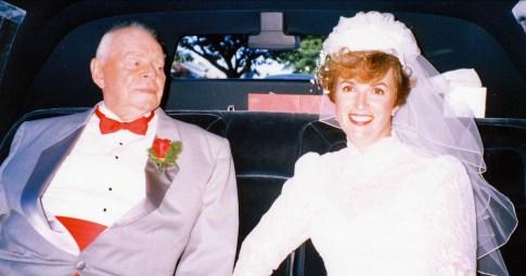 1989, Albert et Irène - mariage à Vancouver