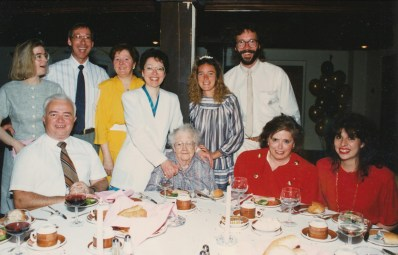 1990, 50 famille Naubert et de Lyette