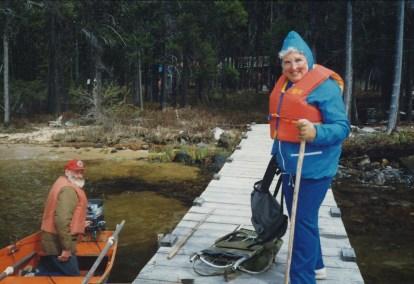 1991, Lonesome lake (2)