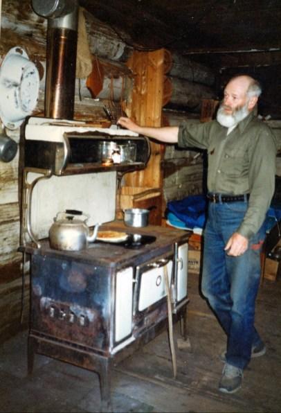 1991, Lonesome lake, John Edwards