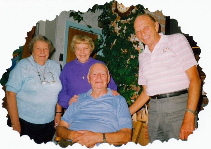 1992, 28 sept - Myrtle George, Anna Hughes, Albert Thivierge et Billy George