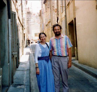 1994, Anne et Robert en provence