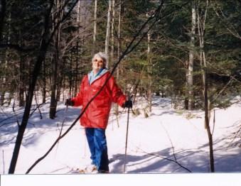 1994, Henriette en ski