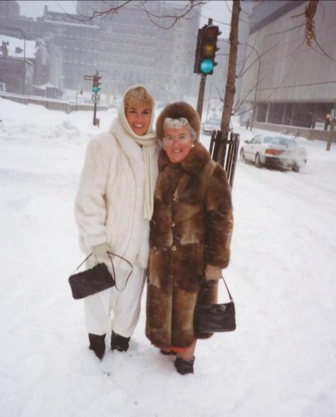 1994, Irène et Henriette (mariage de Bobby)