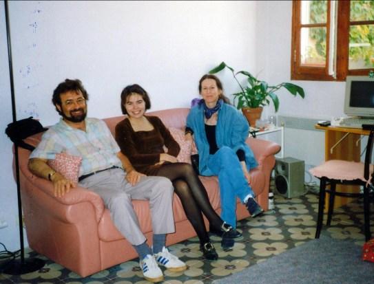 1994, Robert, M arie-Jo et Anne à Marseille
