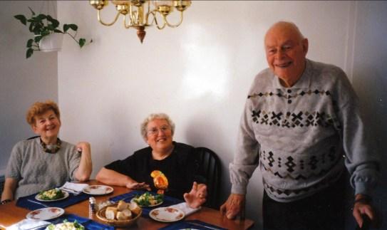 1994, Ruth, Henriette et Albert